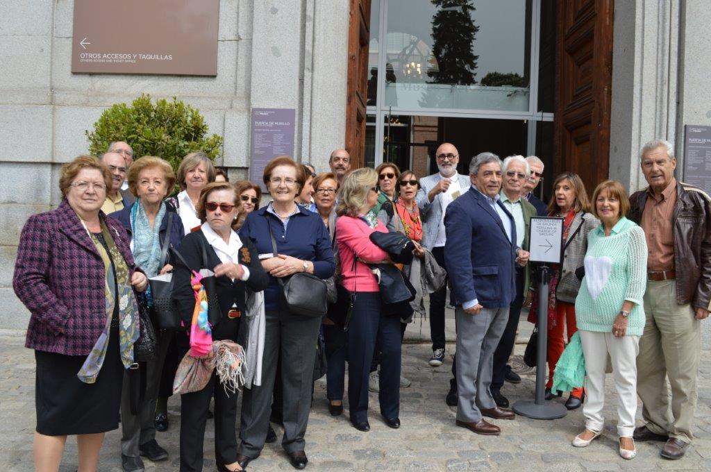 Visitas al Museo del Prado y Real Academia de San Fernando