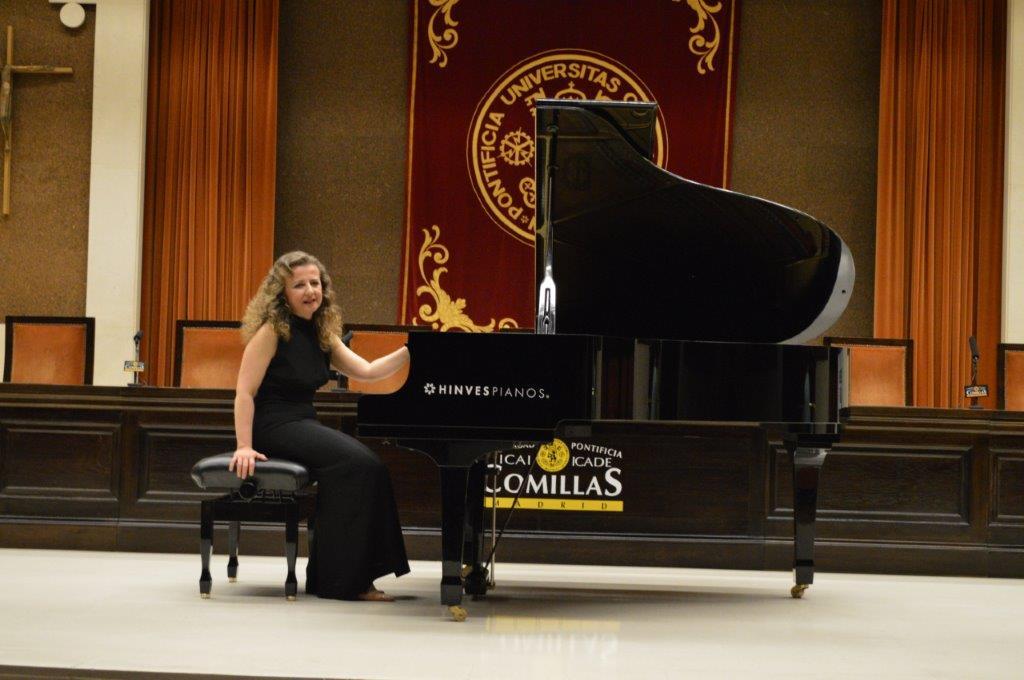 Una tarde con Mozart, Chopin y nuestra Patrizia Prati