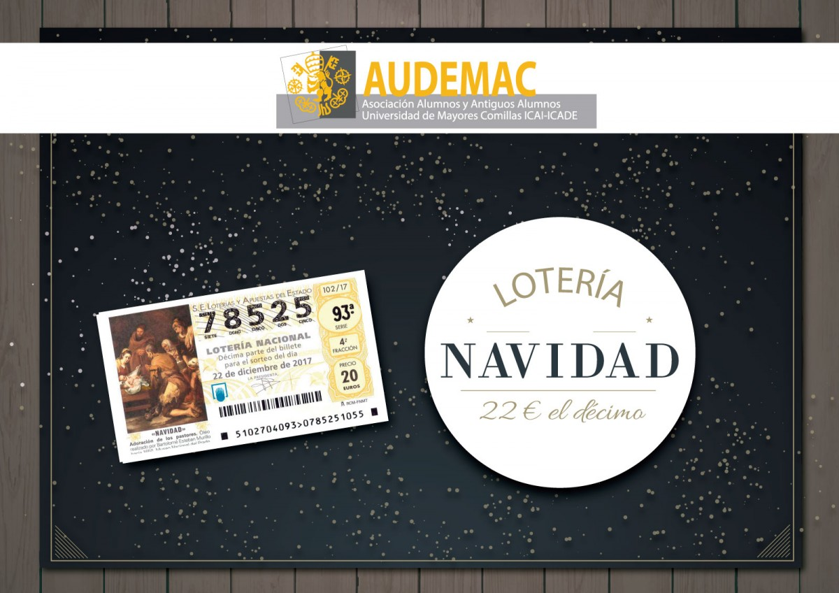 ¡Habemos Lotería AUDEMAC!