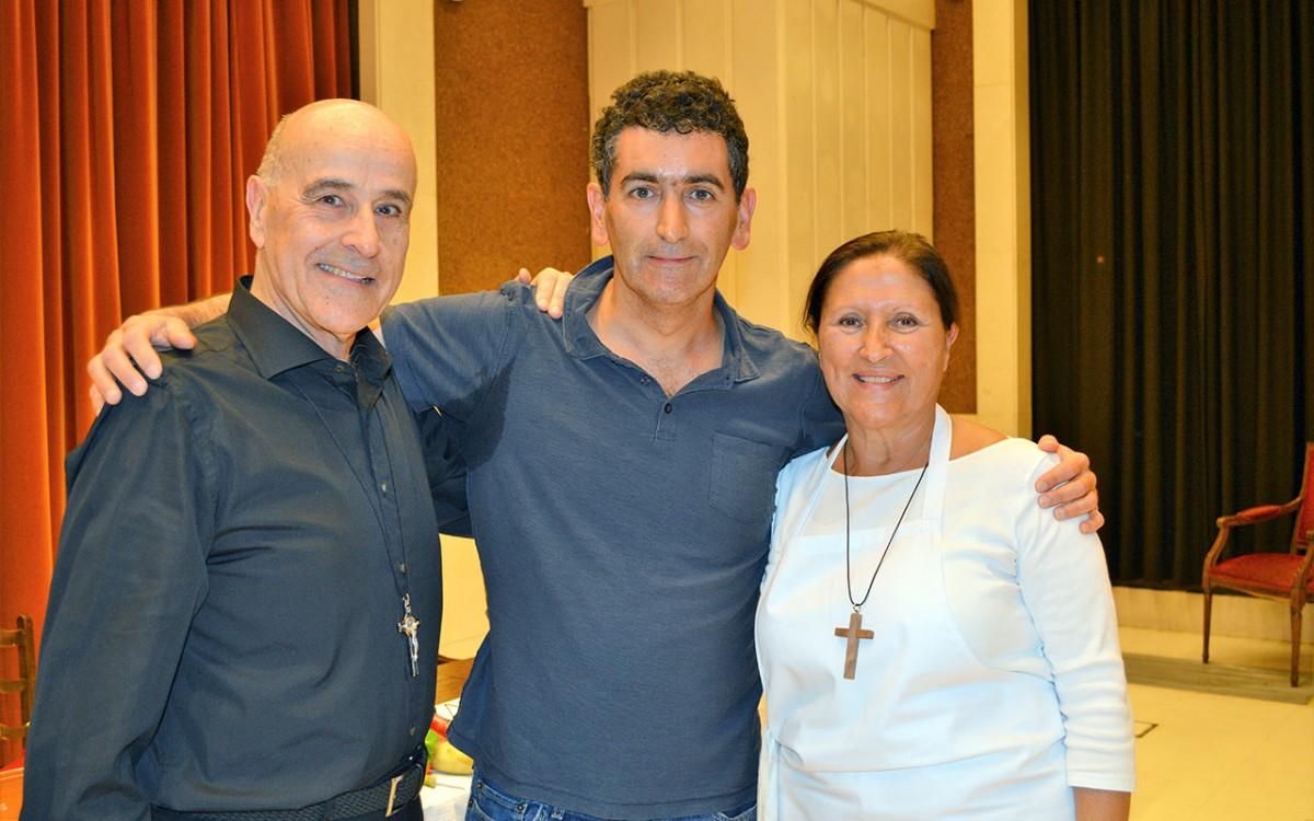 Felicidades, Juan Mayorga, de parte de todos tus múltiples 'fans' en Comillas