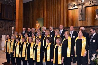 """Primeras actuaciones del Coro de Audemac """"Acordes Mayores"""""""