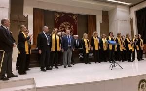 Precioso viaje musical de Acordes Mayores... en el Aula Magna de Comillas